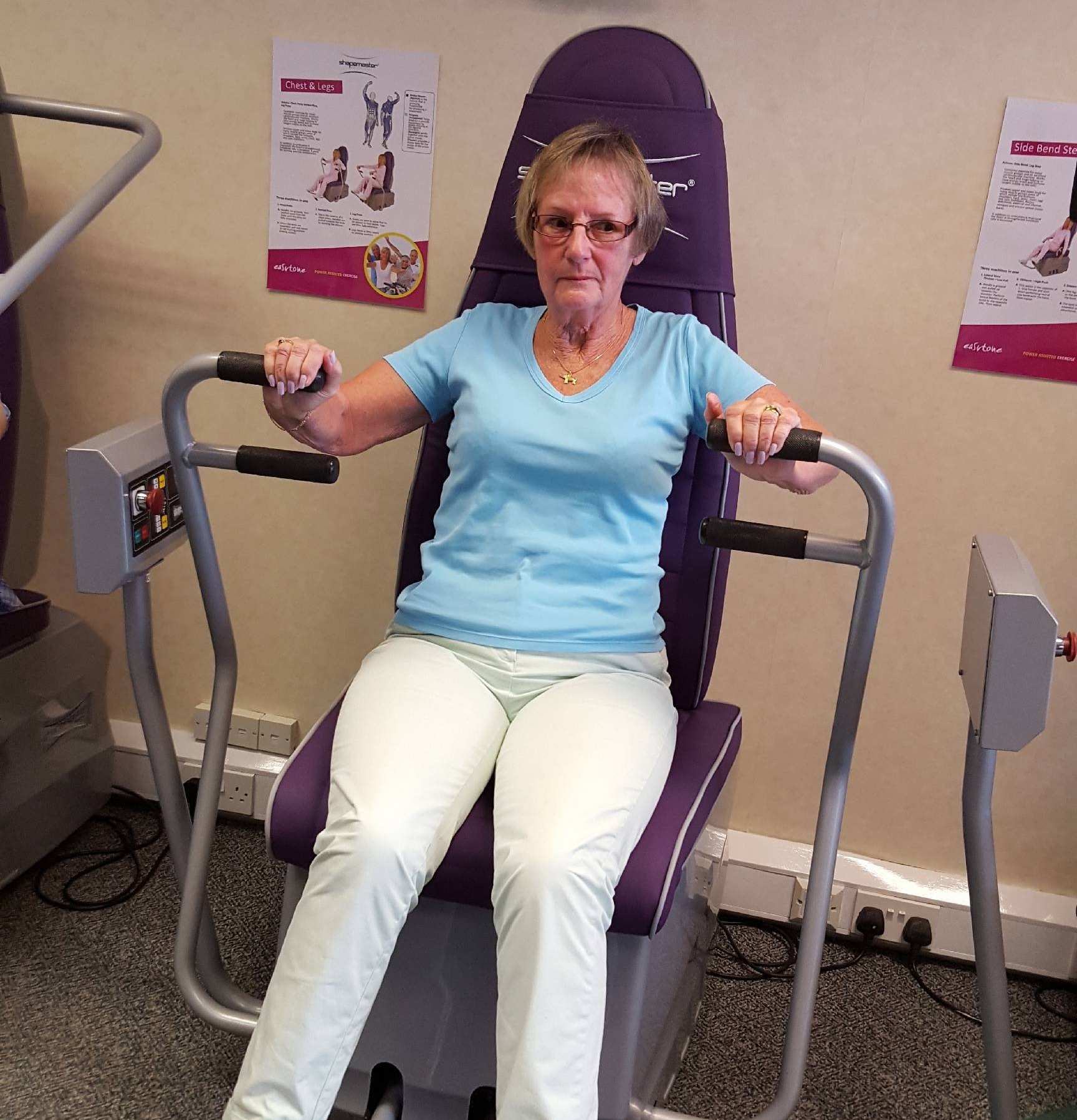 Near Foodie Friday in Stockport Old Town City centre gym exercise benefits training women nutrition free trial sainsburys by bank post office